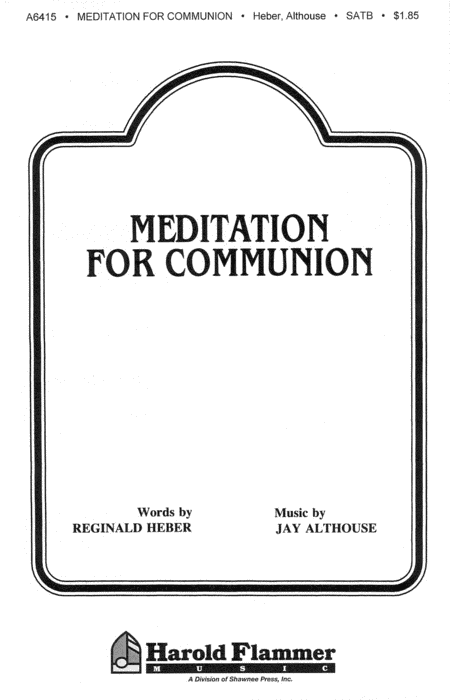 Meditation for Communion