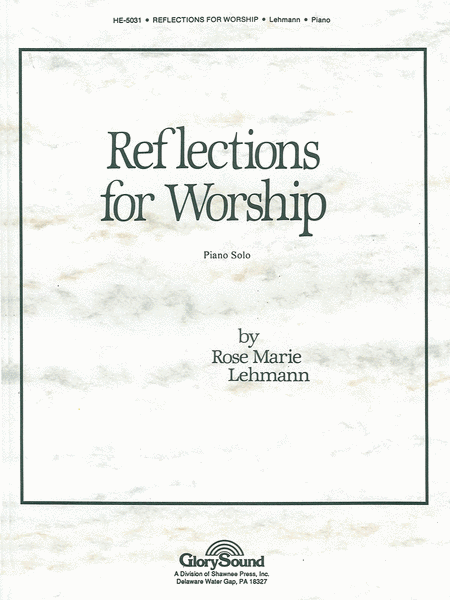 Reflections for Worship for Piano