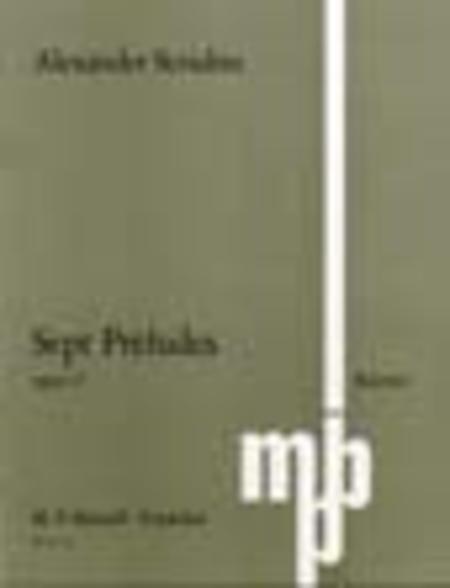 7 Preludes Op. 17