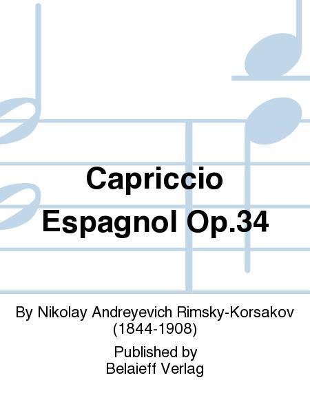 Capriccio Espagnol Op. 34