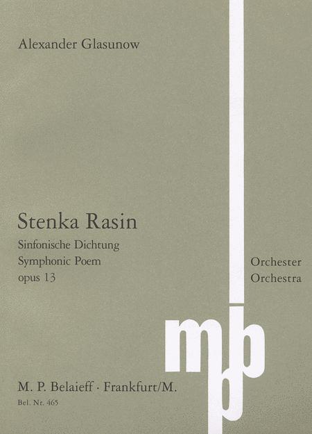 Stenka Rasin Op. 13