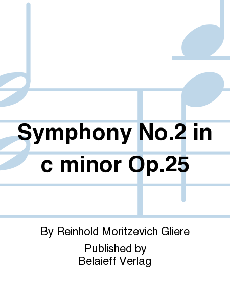 Symphony No. 2 in c minor Op. 25