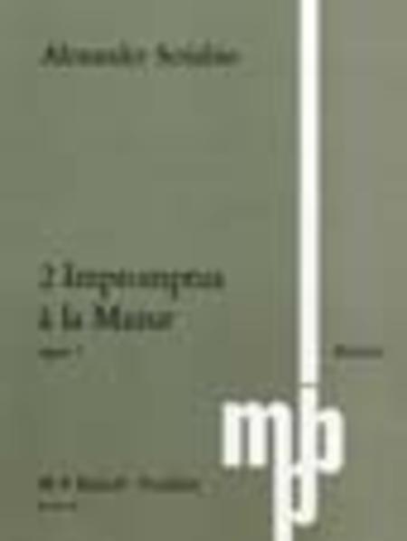 2 Impromptus a la Mazur Op. 7