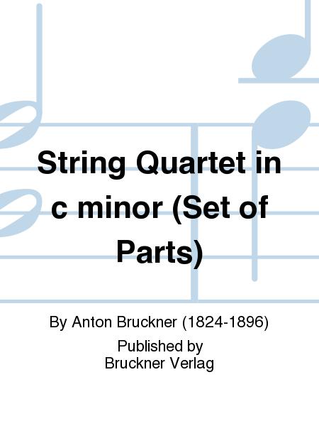 String Quartet in c minor (Set of Parts)