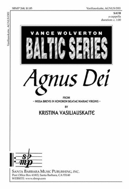 Agnus Dei from Missa Brevis in Honorem Beata Maria Virginis