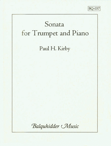 Sonata for Trumpet & Piano