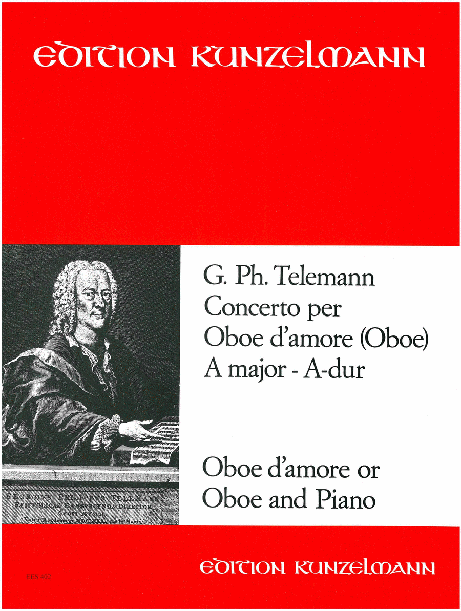 Oboe d'amore Concerto in A Major