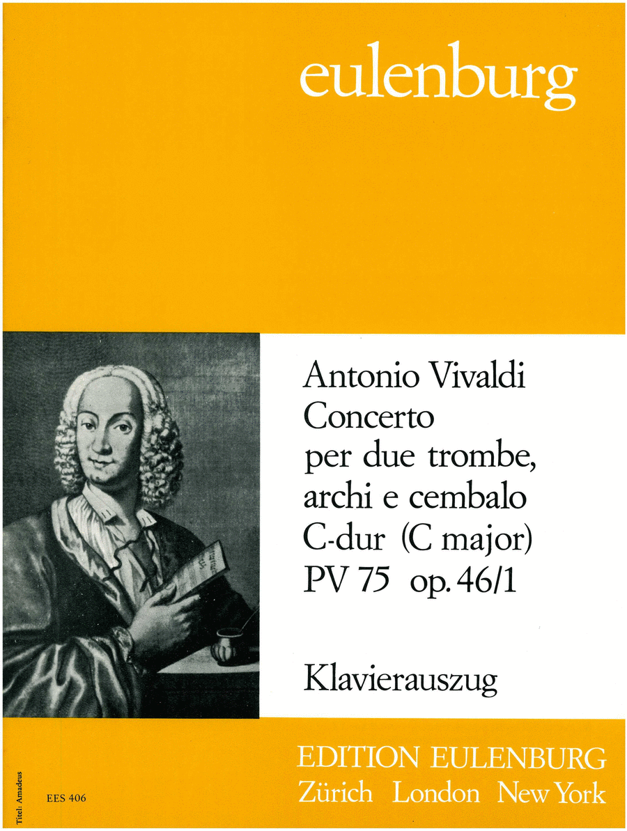 Concerto for 2 Trumpets in C Major RV537