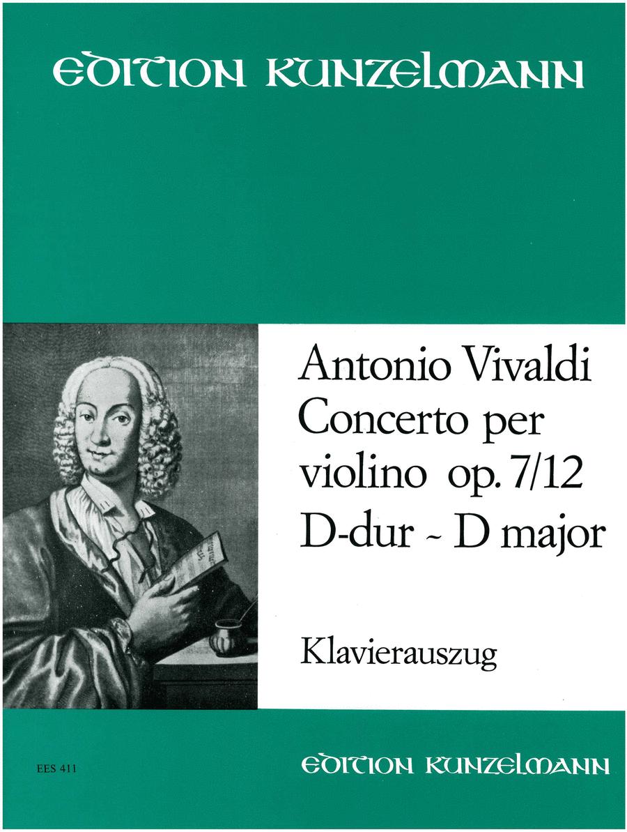 Violin Concerto in D Major Op. 7 No. 12