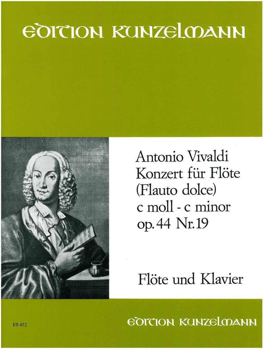 Recorder Concerto in C Minor P440