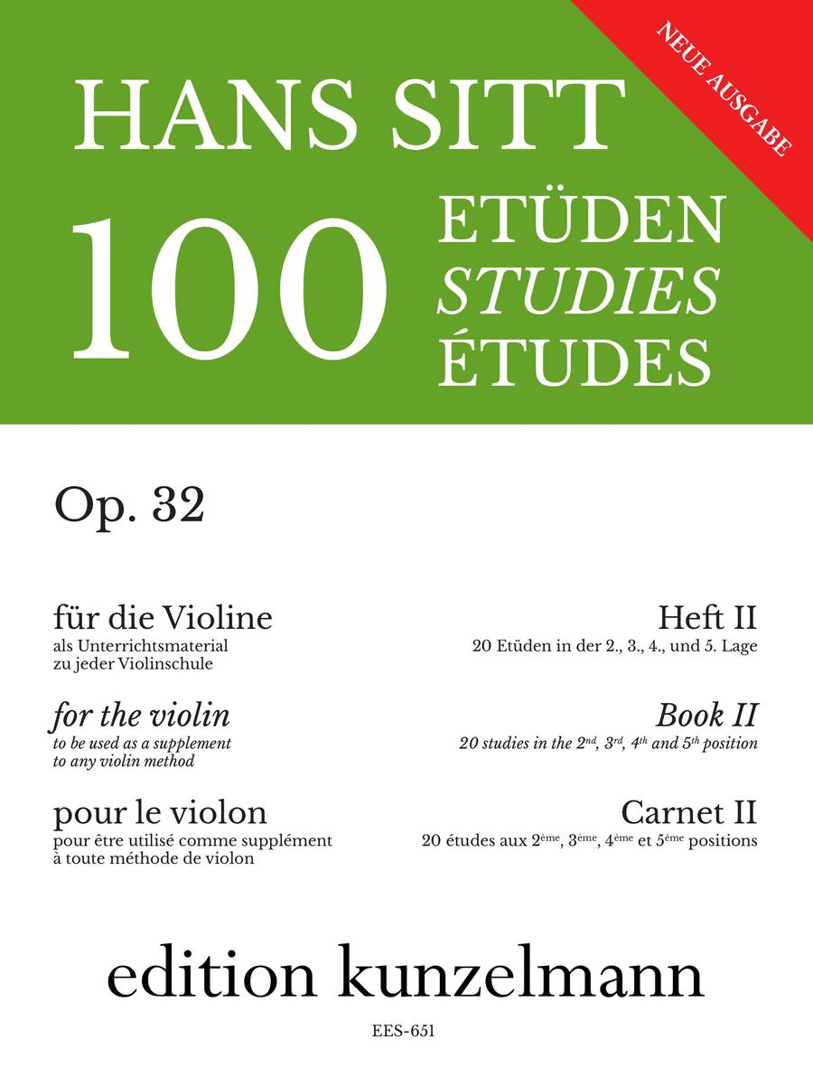 Etudes (100) Op. 32 - Volume 2