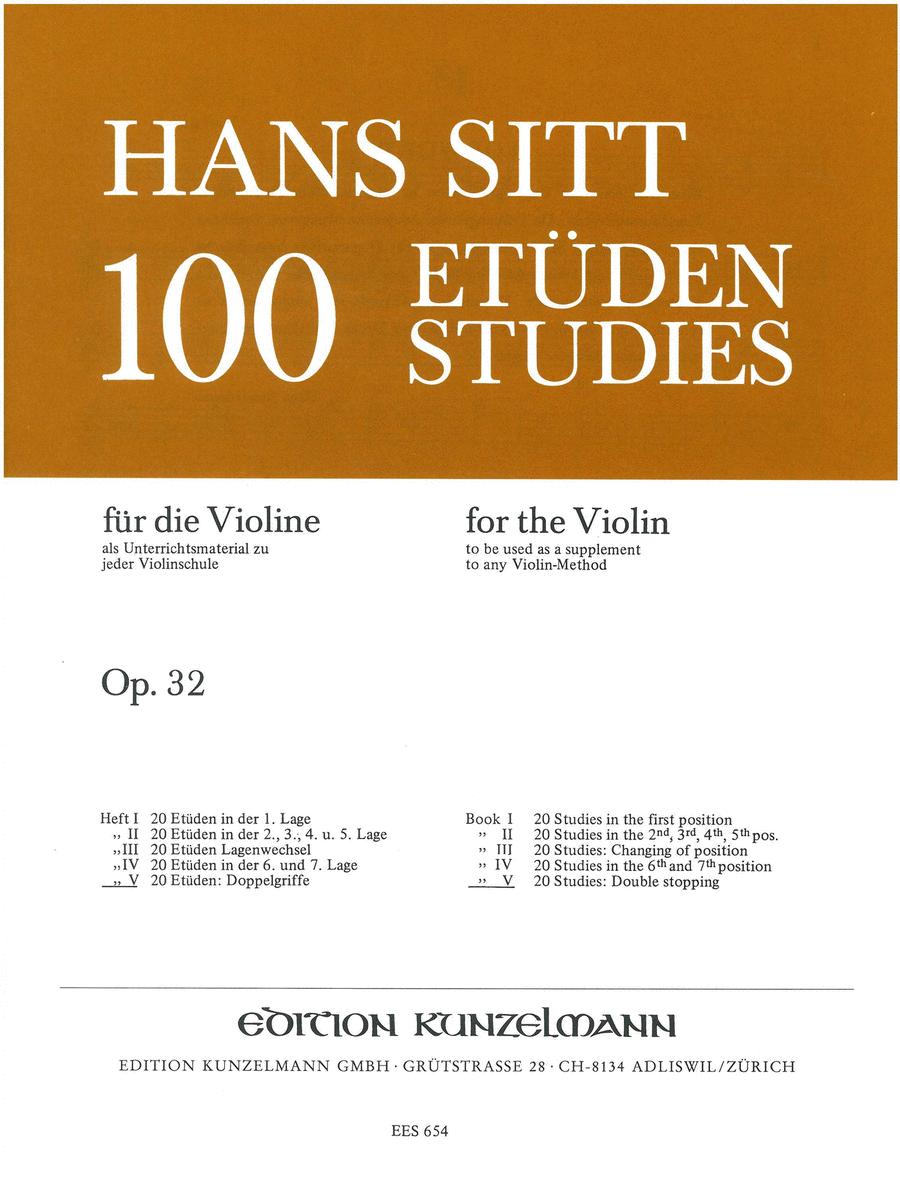 Etudes (100) Op. 32 - Volume 5