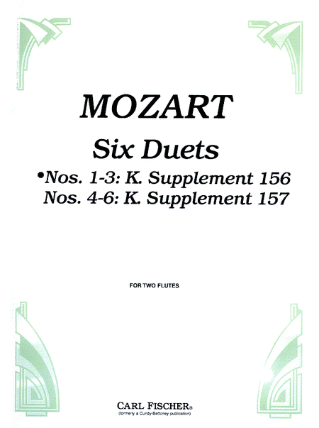 Six Duets, Op. 75, No 1-3