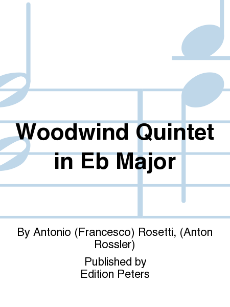 Woodwind Quintet in Eb Major