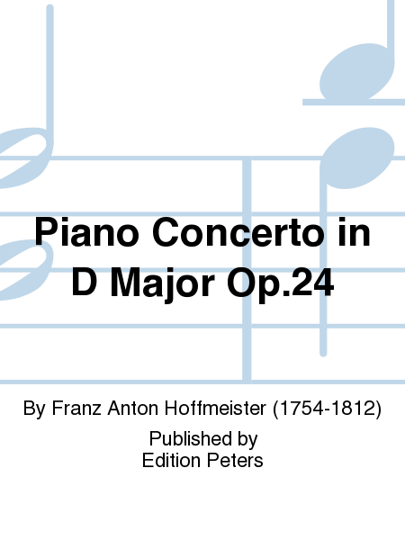 Piano Concerto in D Major Op. 24