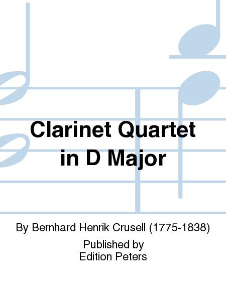 Clarinet Quartet in D Major