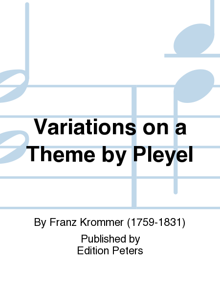 Variations on a Theme by Pleyel
