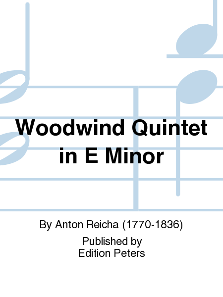 Woodwind Quintet in E Minor