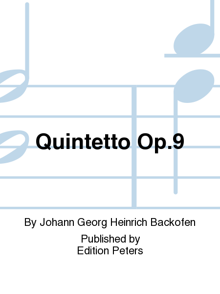 Quintetto Op. 9