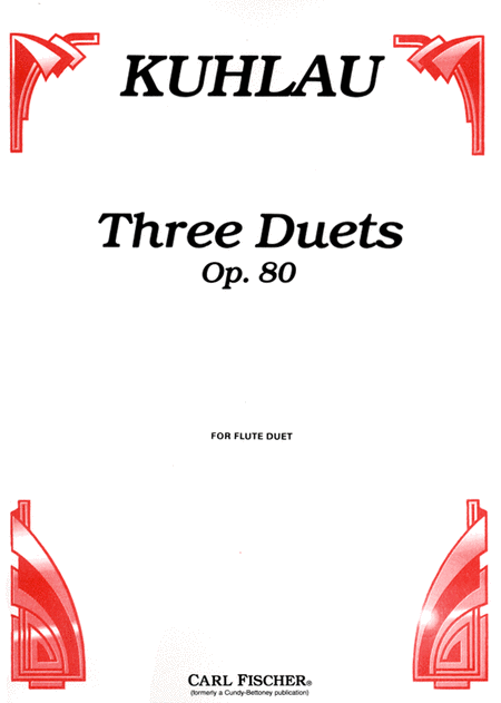 Three Duets, Op. 80