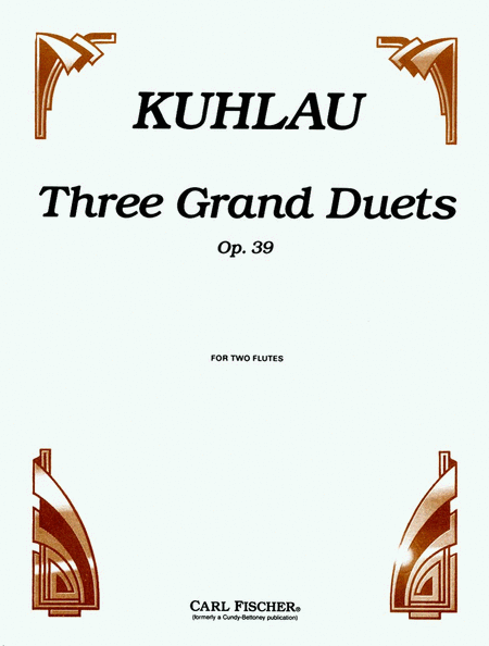 Three Grand Duets, Op. 39