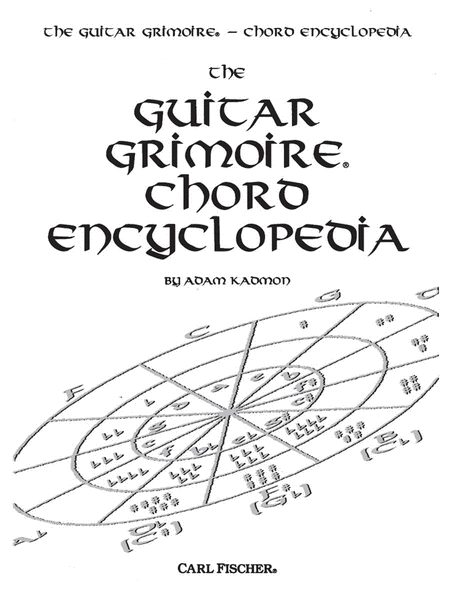 Guitar Grimoire Chord Encyclopedia