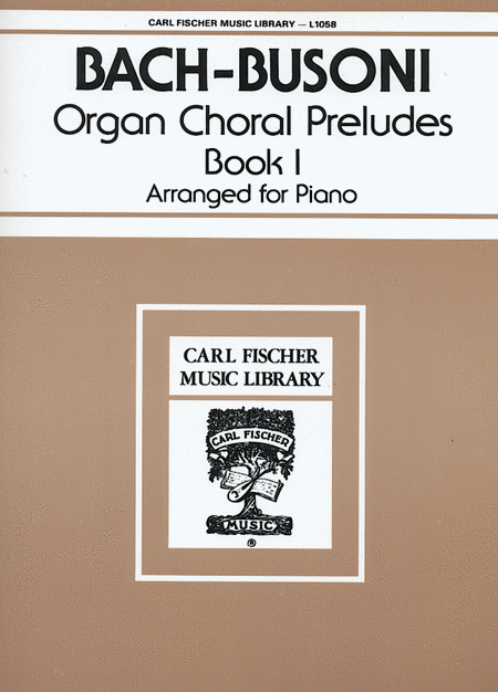 Organ Choral Preludes - Book 1