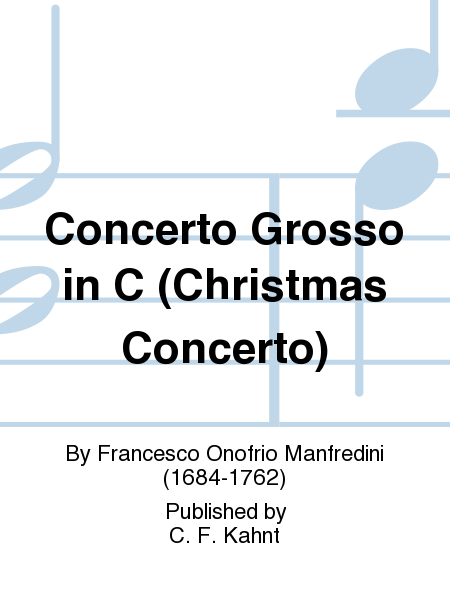 Concerto Grosso in C (Christmas Concerto)