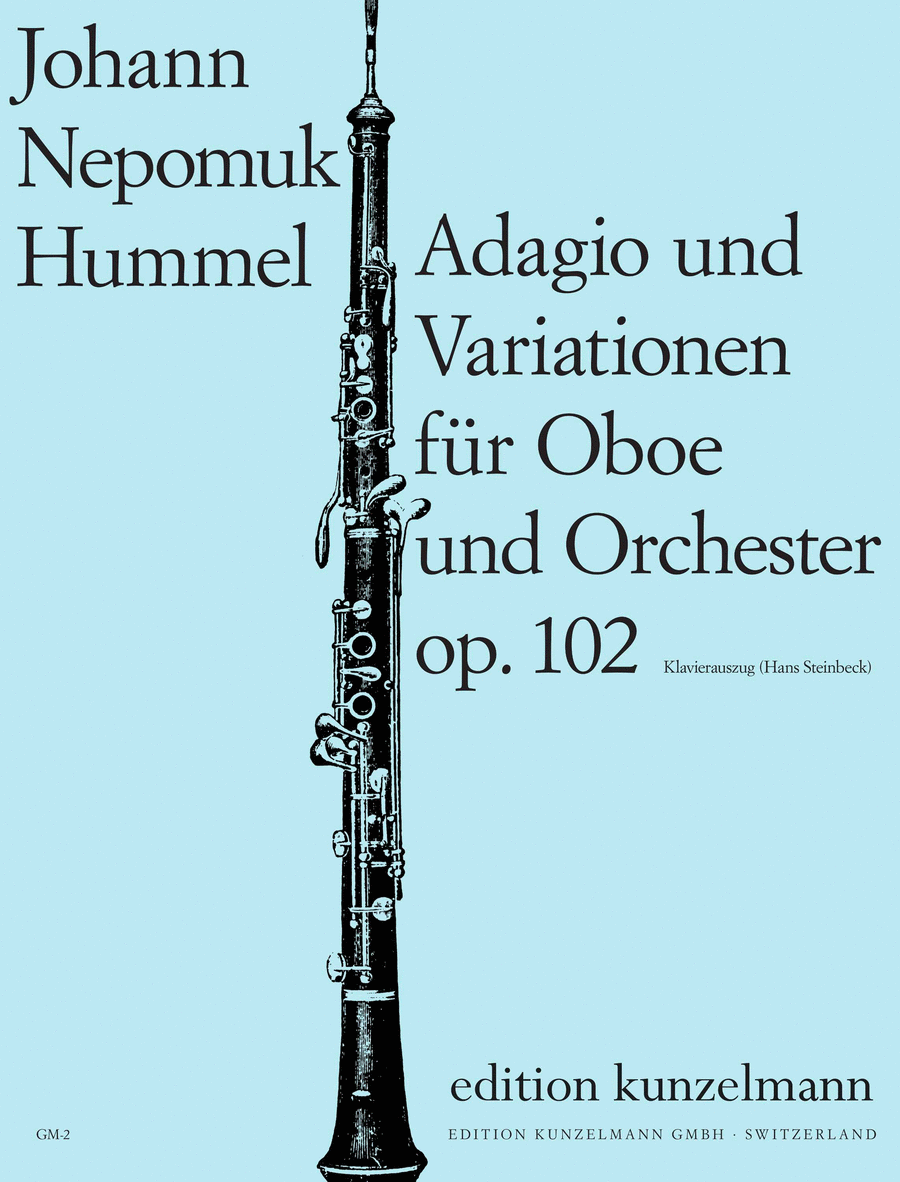 Adagio and Theme with Variations, Op. 102