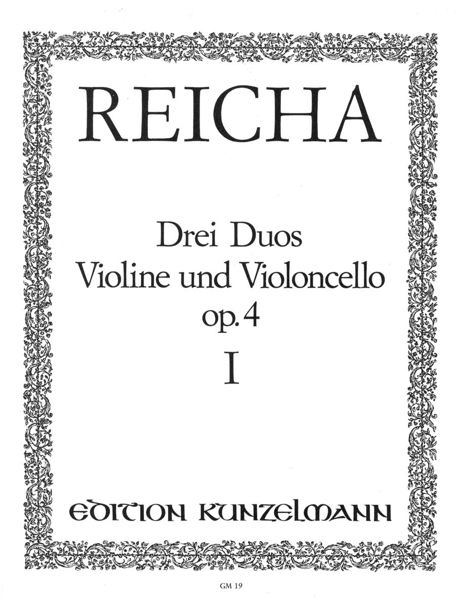 Duos (3), Op. 4 - Volume 1