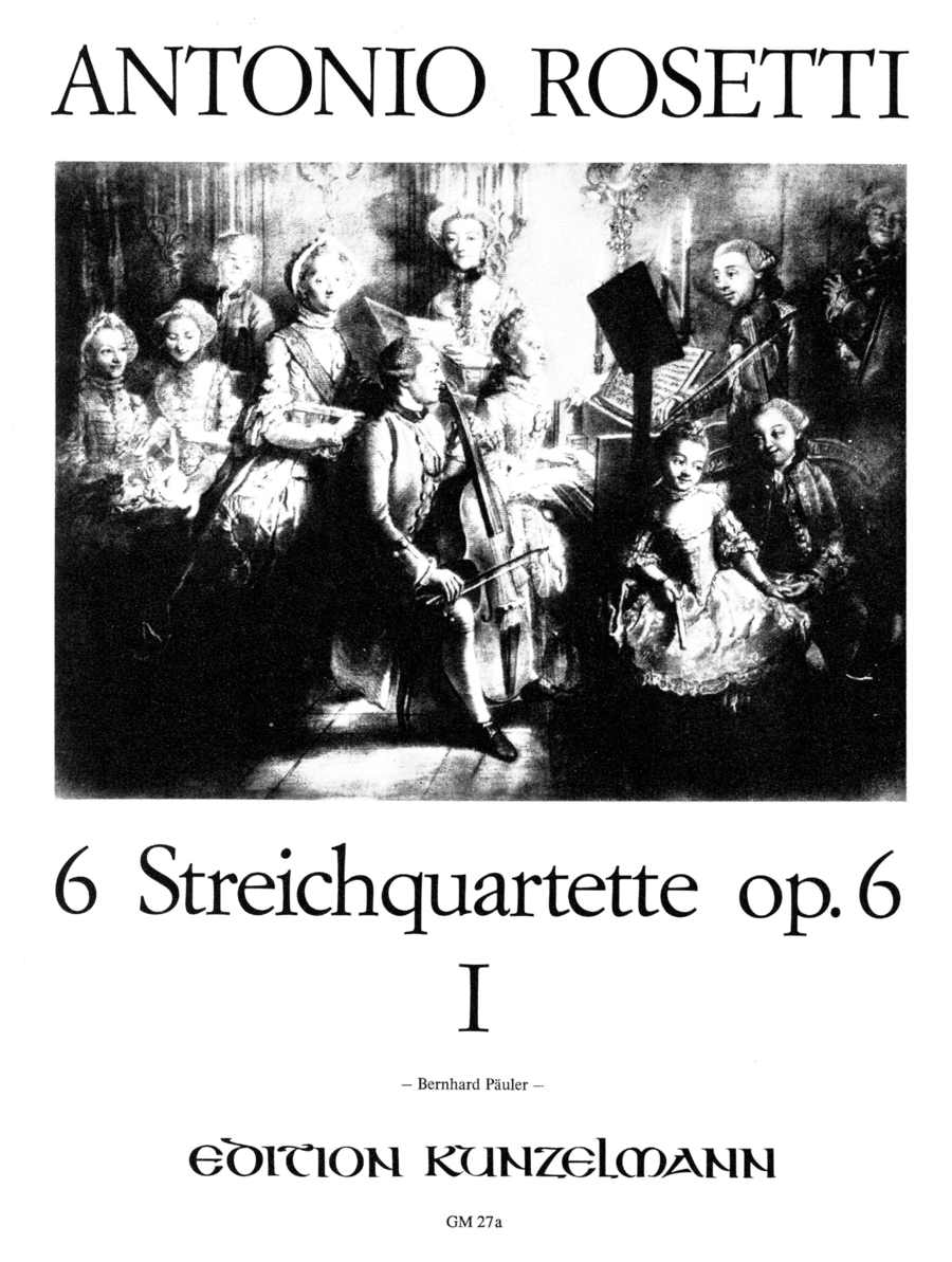 String Quartets (6), Op.6 Vol. 1