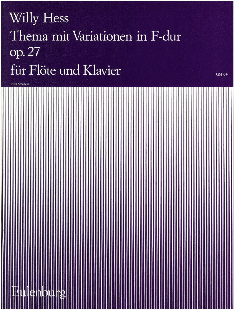 Theme and Variations in F Major