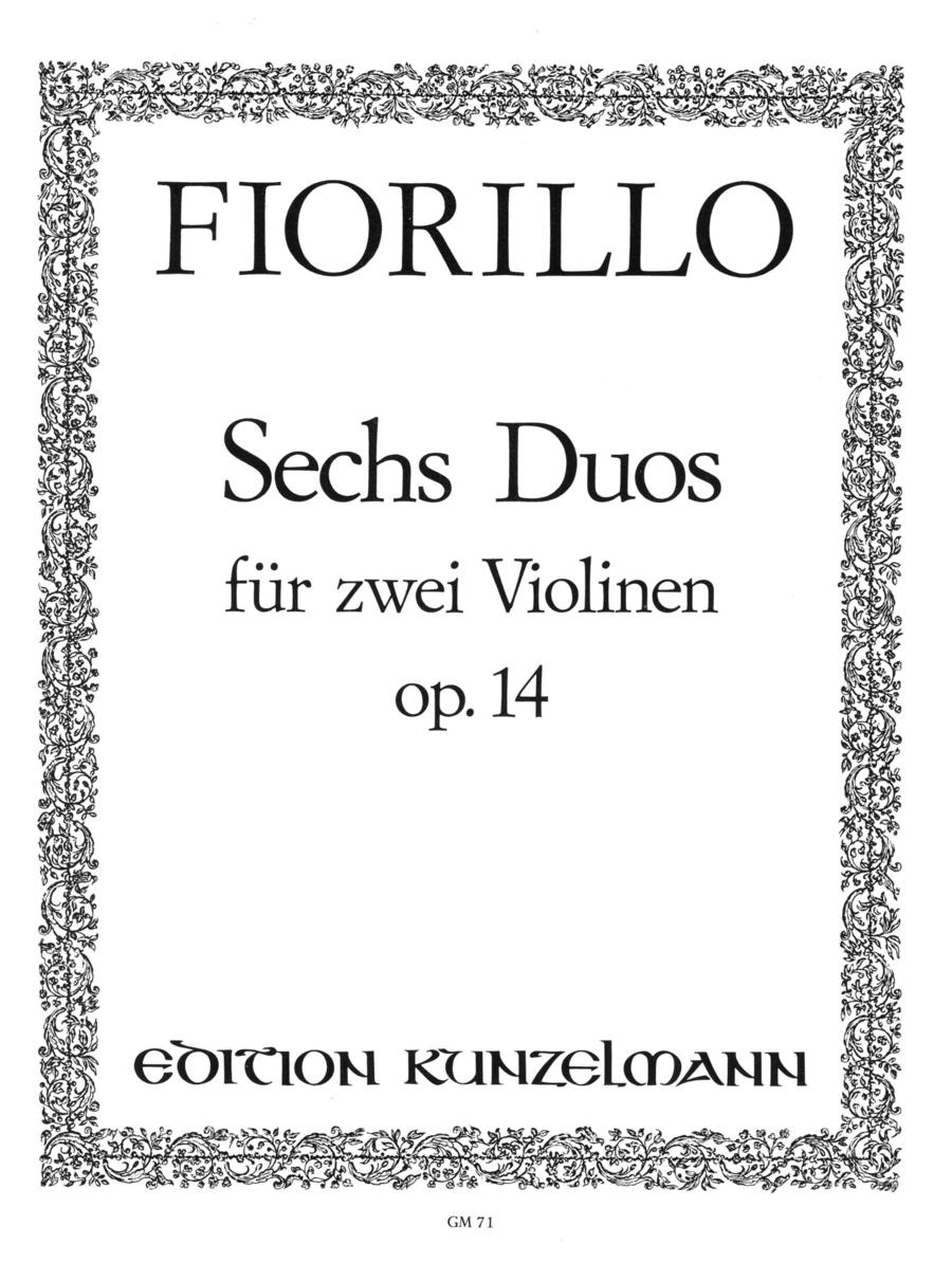 6 Duos concertantes Op. 14