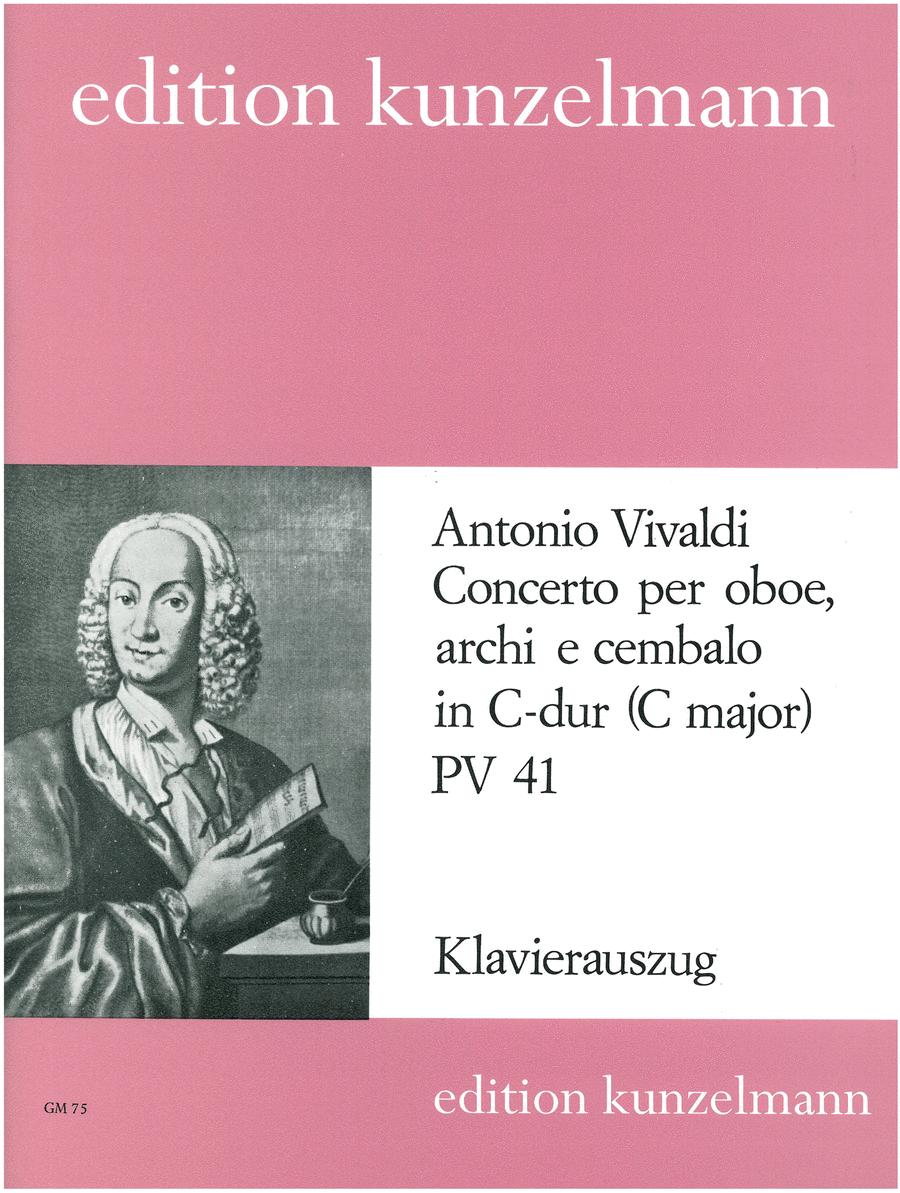 Oboe Concerto in C Major P41