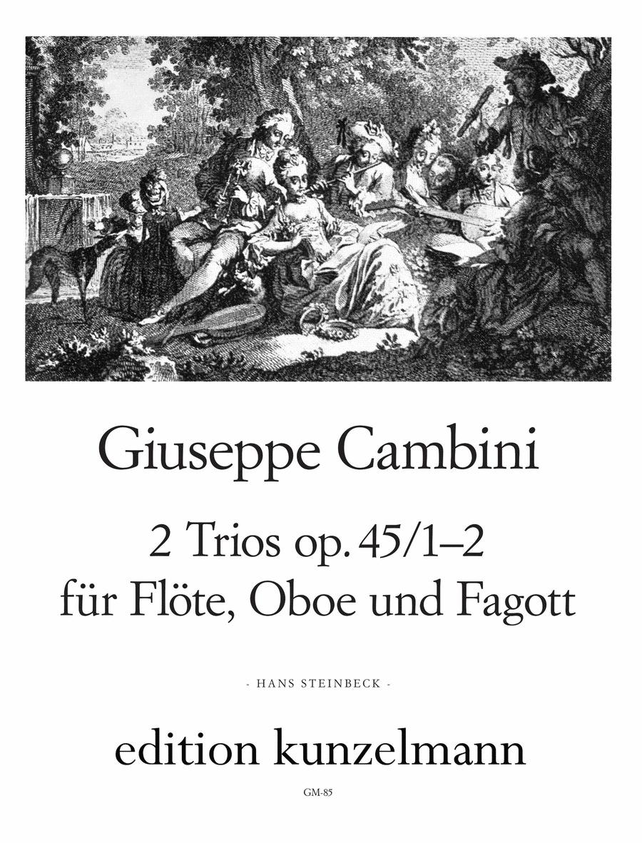 2 Trios Op. 45 Nos. 1 2