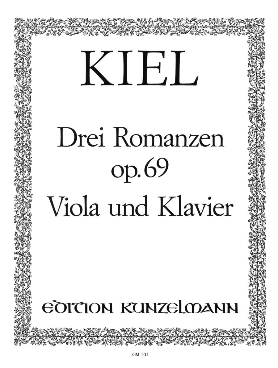 Romances (3), Op. 69