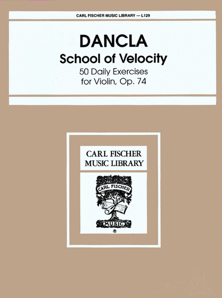 School of Velocity-50 Daily Exercises, Op. 74