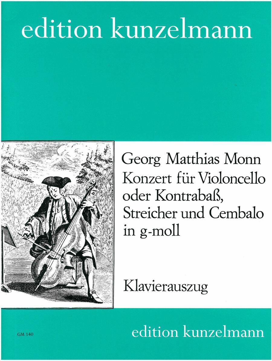 Konzert fur Violoncello oder Kontrabass (Concerto for Cello or Bass) in G Minor