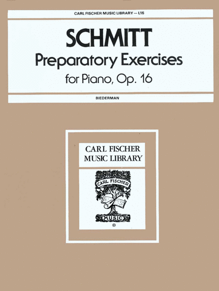 Preparatory Exercises for Piano, Op. 16