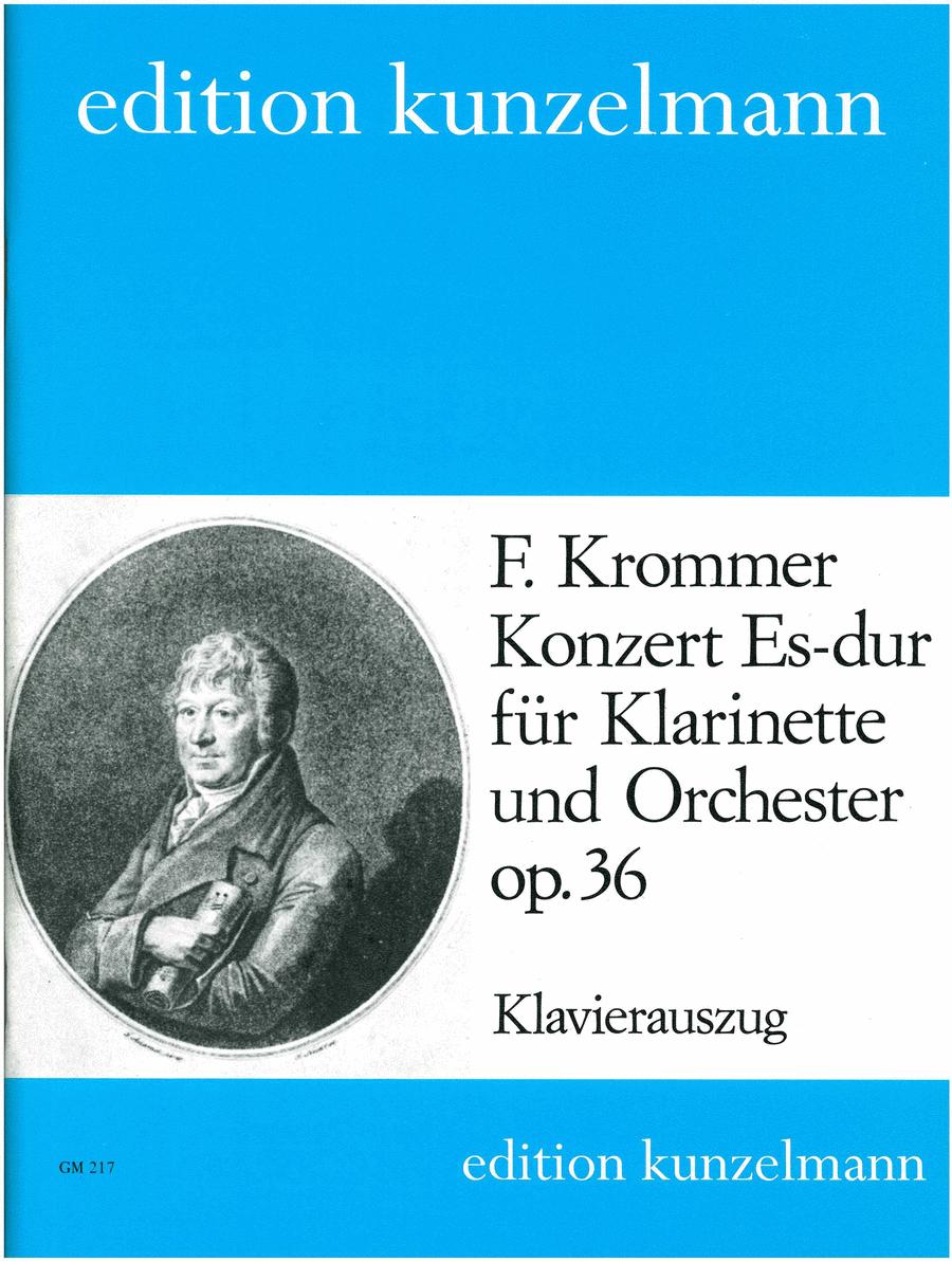 Clarinet Concerto in Eb Major Op. 36