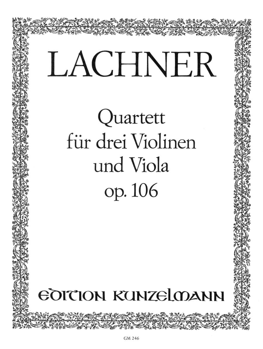 Quartet, Op. 106