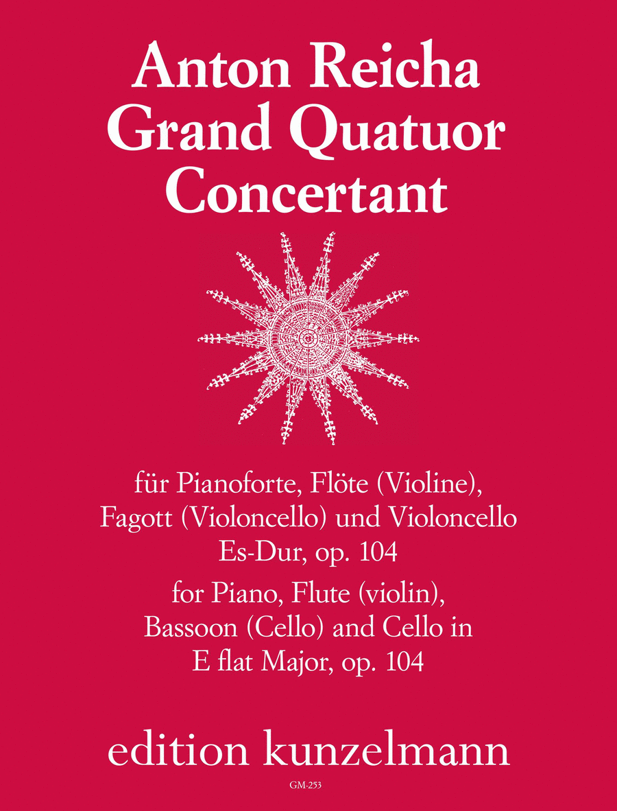 Grand Quatour Concertante in E flat Op. 104