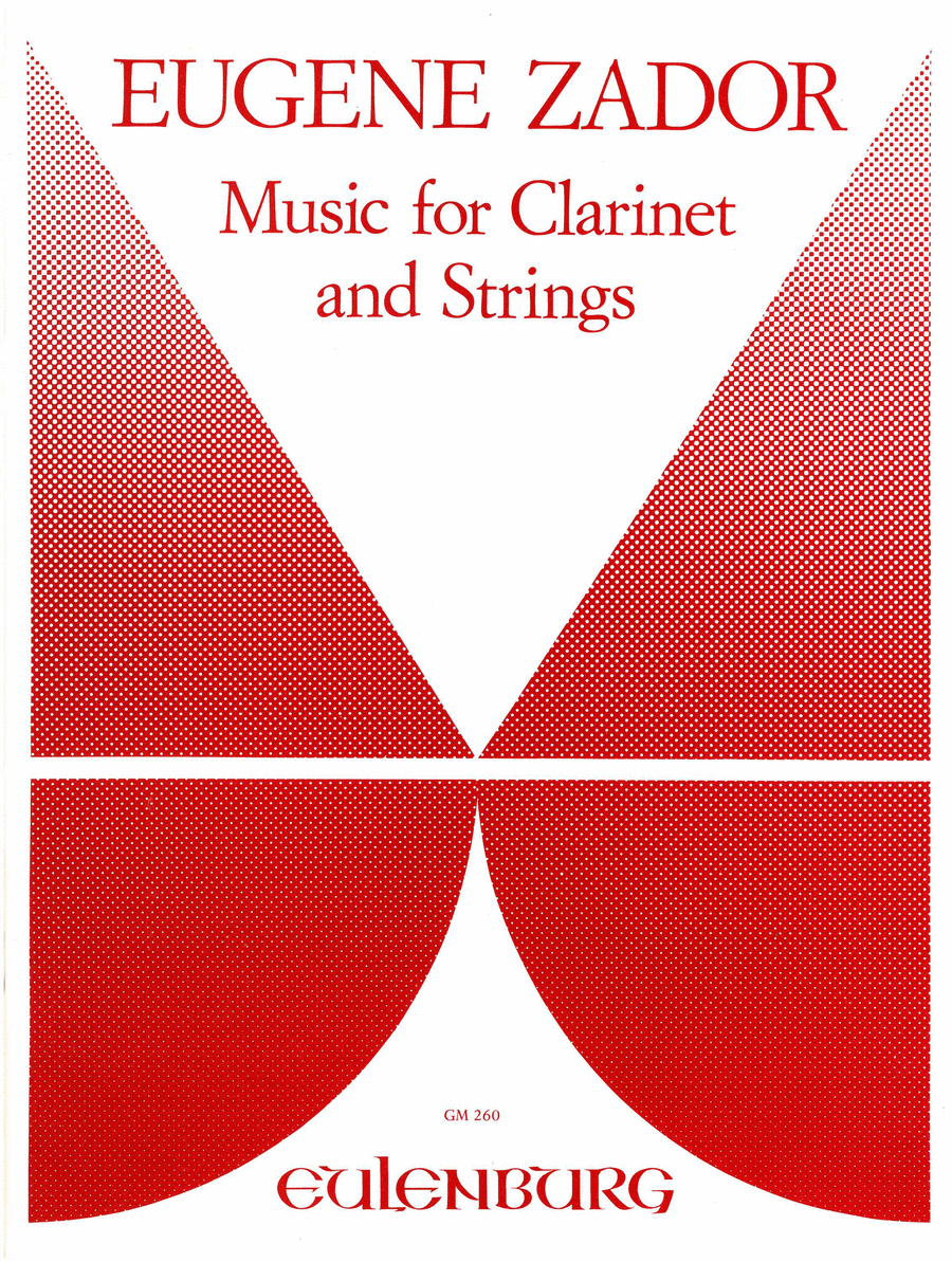 Music for Clarinet and Strings