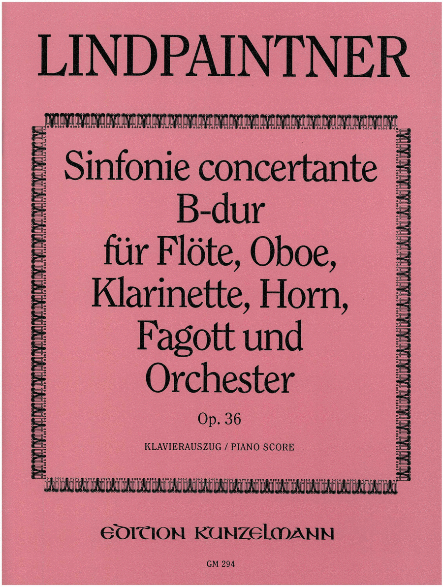 Sinfonia concertante in Bb Major Op.36