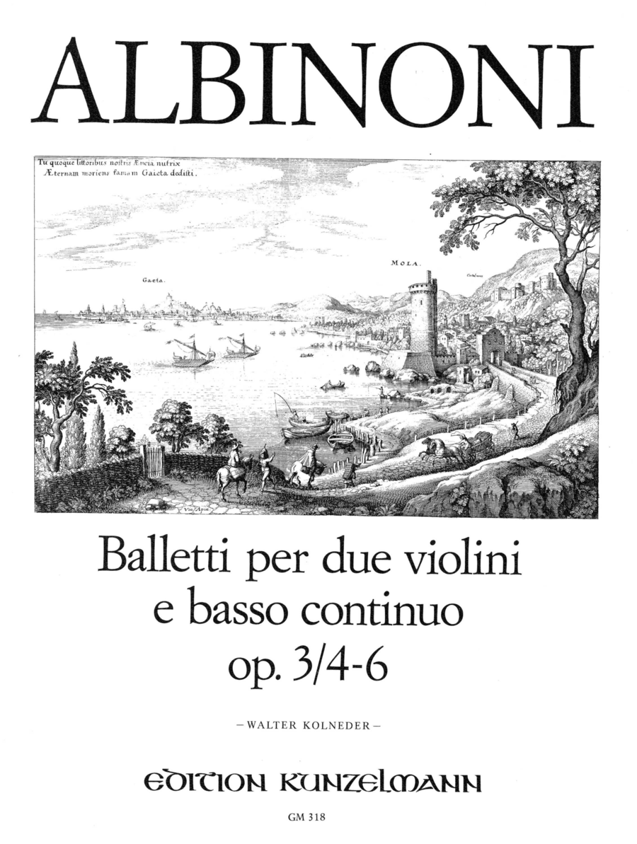 Trio Sonatas (Balletti) (12) Vol. 2