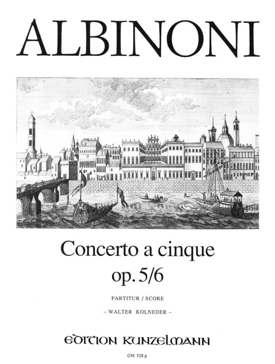 Concerto a cinque Op. 5 No. 6
