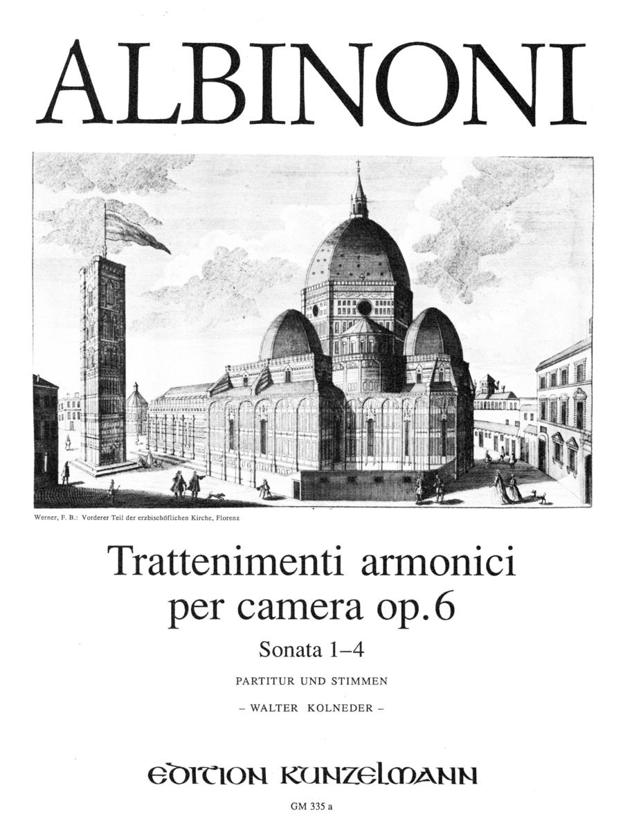 Trattenimenti Armonici per Camera Volume 1