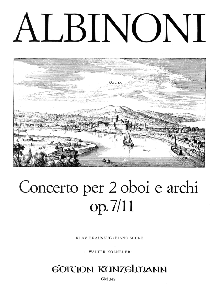 Concerto for Two Oboes in C Major