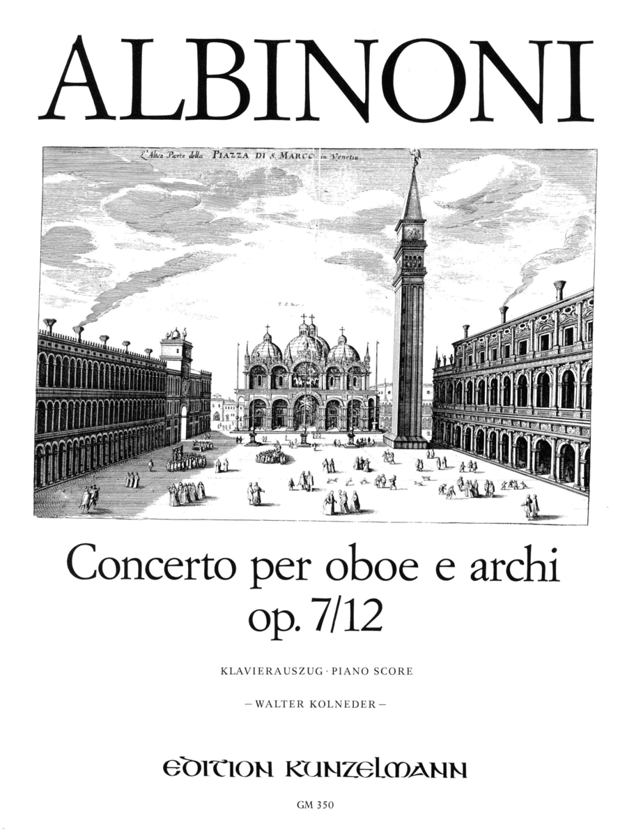 Oboe Concerto in C Op.7 No.12