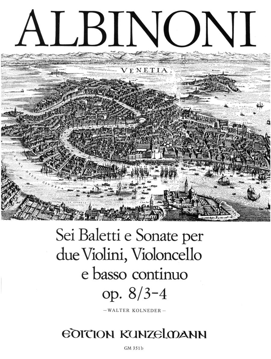 Balletti e Sonata a tre Vol. 2